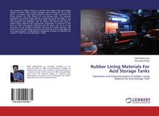 Couverture de Rubber Lining Materials For Acid Storage Tanks