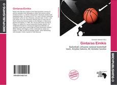 Bookcover of Gintaras Einikis