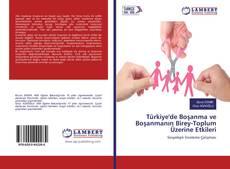 Bookcover of Türkiye'de Boşanma ve Boşanmanın Birey-Toplum Üzerine Etkileri