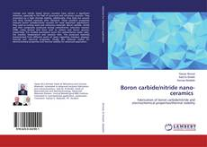 Couverture de Boron carbide/nitride nano-ceramics