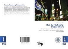 Rue du Faubourg-Poissonnière kitap kapağı