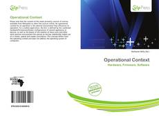 Bookcover of Operational Context