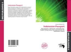 Copertina di Indonesian Passport