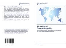 Portada del libro de Die erinnerte Sprachbiographie