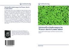 Couverture de Stickstoffveränderungen im Wasser durch Lemna minor