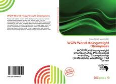 Bookcover of WCW World Heavyweight Champions