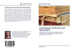 Обложка Anweisungen aus Berlin nach Sigmaringen