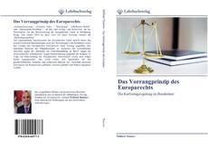 Das Vorrangprinzip des Europarechts的封面