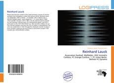 Reinhard Lauck的封面