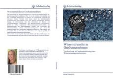 Wissenstransfer in Großunternehmen的封面