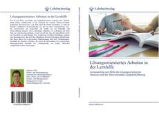 Buchcover von Lösungsorientiertes Arbeiten in der Lernhilfe