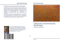 Bookcover of Völkerrecht und Internationale Beziehungen