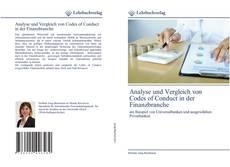 Analyse und Vergleich von Codes of Conduct in der Finanzbranche的封面
