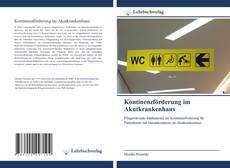 Bookcover of Kontinenzförderung im Akutkrankenhaus