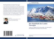 Обложка Der Staatsfonds des Landes Norwegen