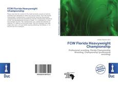 Couverture de FCW Florida Heavyweight Championship