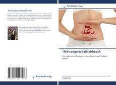 Schwangerschaftsabbruch kitap kapağı