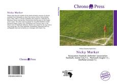 Bookcover of Nicky Marker