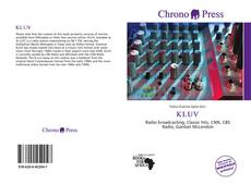 Bookcover of KLUV