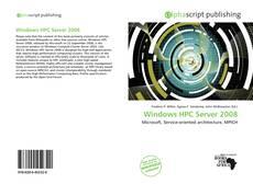 Capa do livro de Windows HPC Server 2008