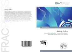 Bookcover of Ability Office