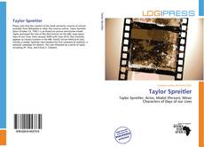 Bookcover of Taylor Spreitler