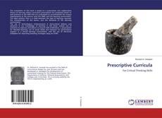 Capa do livro de Prescriptive Curricula