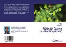 Portada del libro de Biology and Predatory Potential of Harmonia octomaculata (Fabricius)