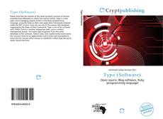 Typo (Software) kitap kapağı