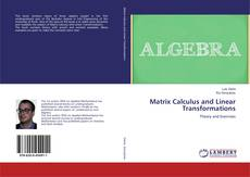 Bookcover of Matrix Calculus and Linear Transformations