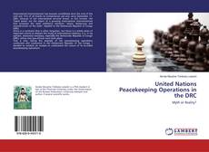 Bookcover of United Nations Peacekeeping Operations in the DRC