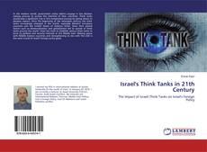 Israel's Think Tanks in 21th Century kitap kapağı