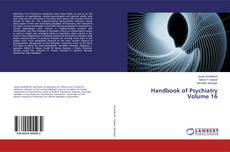 Capa do livro de Handbook of Psychiatry Volume 16