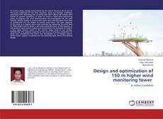 Copertina di Design and optimization of 150 m higher wind monitoring tower