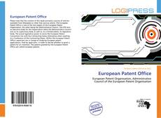 Bookcover of European Patent Office