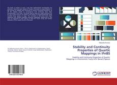 Bookcover of Stability and Continuity Properties of Quartic Mappings in IFnBS