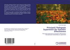 Capa do livro de Principals' Pedagogic Supervision On Teachers' Effectiveness