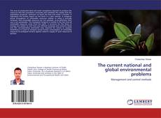 Capa do livro de The current national and global environmental problems