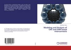 Capa do livro de Modeling and Analysis of CNT and GNR based Interconnects