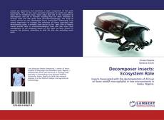 Capa do livro de Decomposer insects: Ecosystem Role