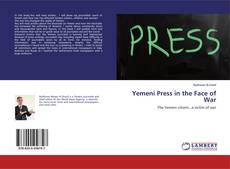 Buchcover von Yemeni Press in the Face of War