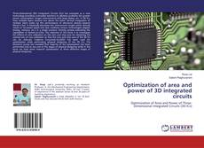 Optimization of area and power of 3D integrated circuits kitap kapağı