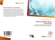 Обложка Pierre Gaultier de La Vérendrye