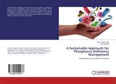 Capa do livro de A Sustainable Approach for Phosphorus Deficiency Management