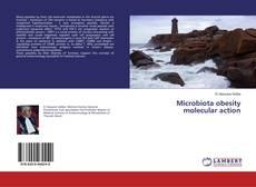 Portada del libro de Microbiota obesity molecular action