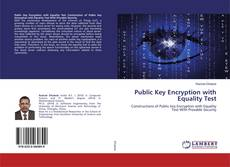 Bookcover of Public Key Encryption with Equality Test
