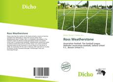 Bookcover of Ross Weatherstone