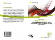 Buchcover von Abram Farewell