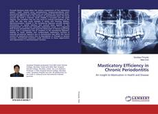 Bookcover of Masticatory Efficiency in Chronic Periodontitis