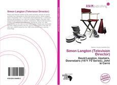 Bookcover of Simon Langton (Television Director)